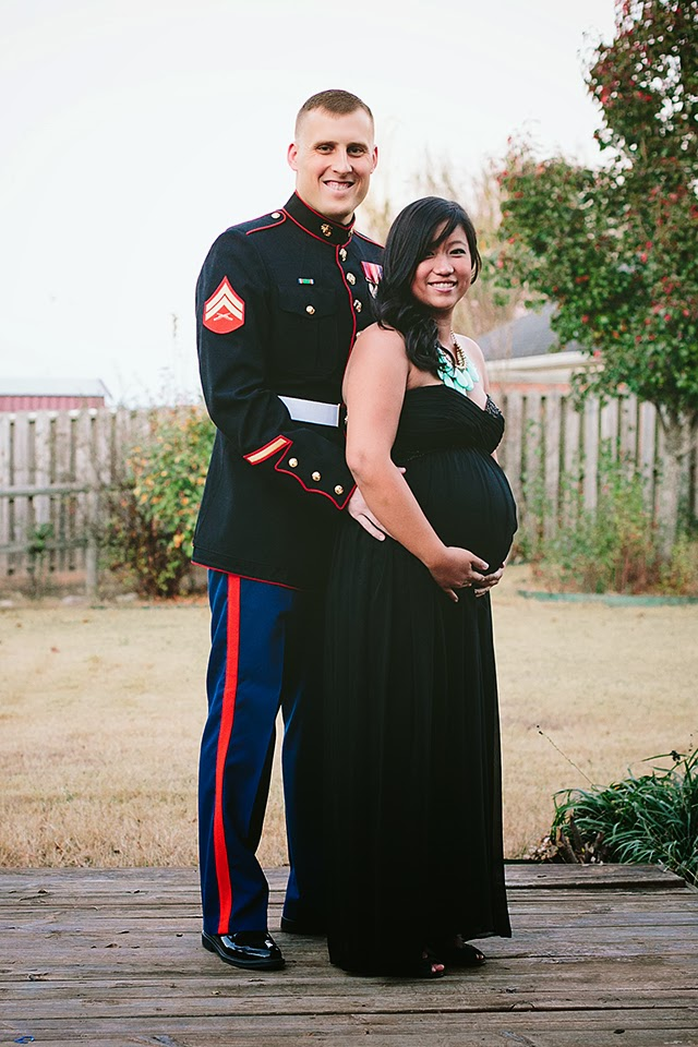 Pregnant Marine Ball Dress – fashion dresses