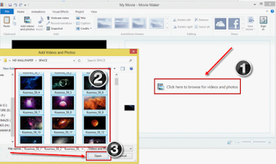 cara menggunakan windows movie maker