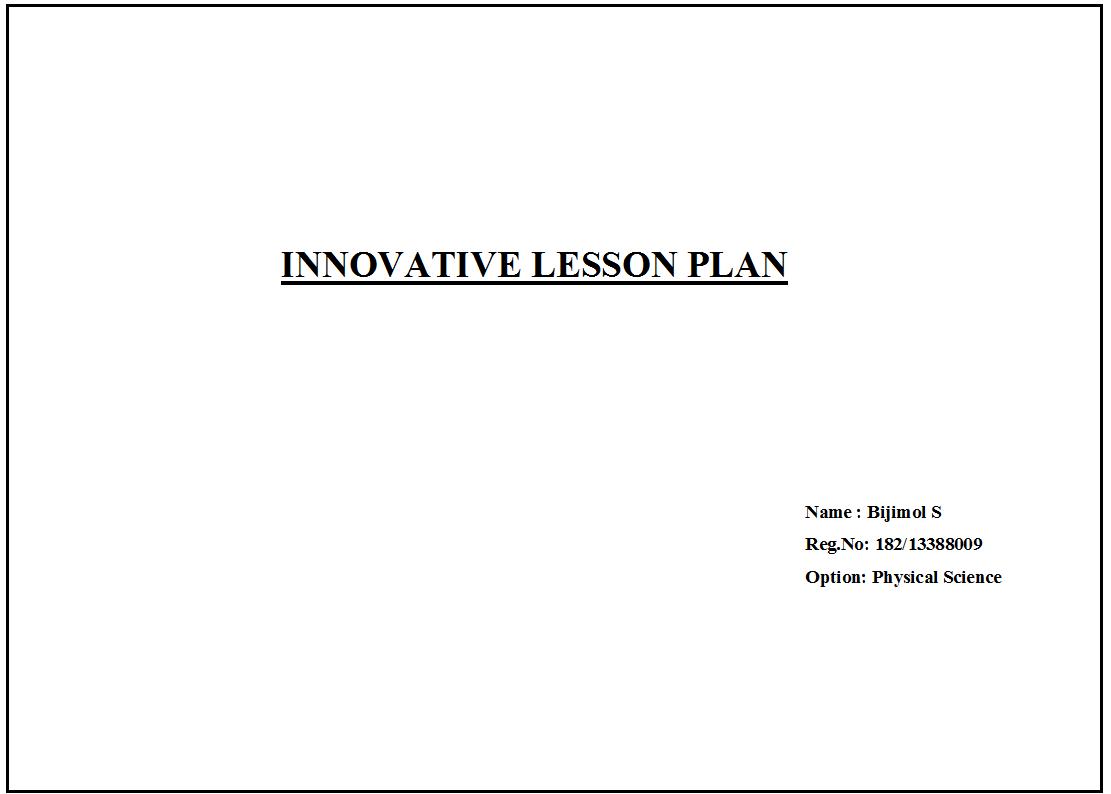 Bijimol s innovative lesson plan periodic table innovative lesson plan periodic table gamestrikefo Gallery