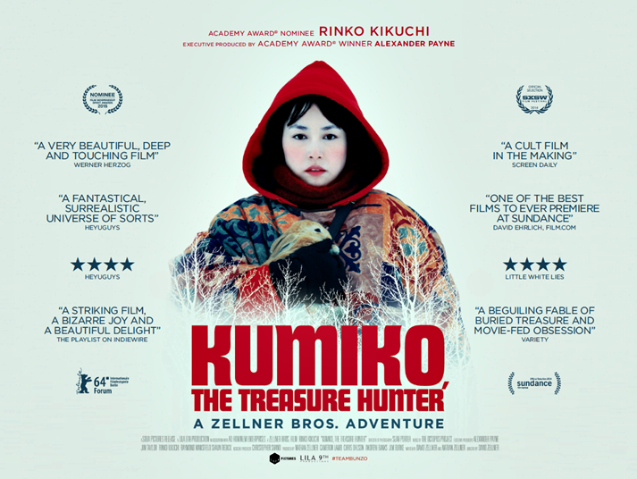 Póster: Kumiko, the treasure hunter