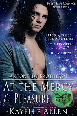 At the Mercy of Her Pleasure, scifi romance, sfr, scifi, sweet romance