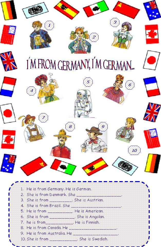 fun english worksheets
