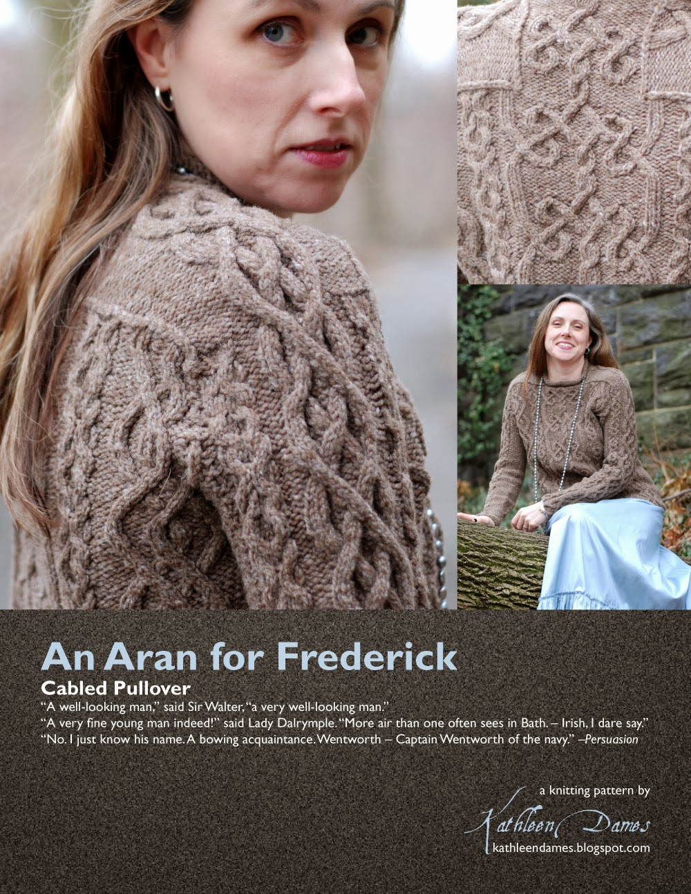 kathleen dames: Jane Austen Knits patterns now on Ravelry!