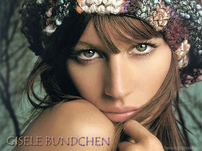 Gisele Bundchen Brazilian Fashion Model Pretty Wallpaper