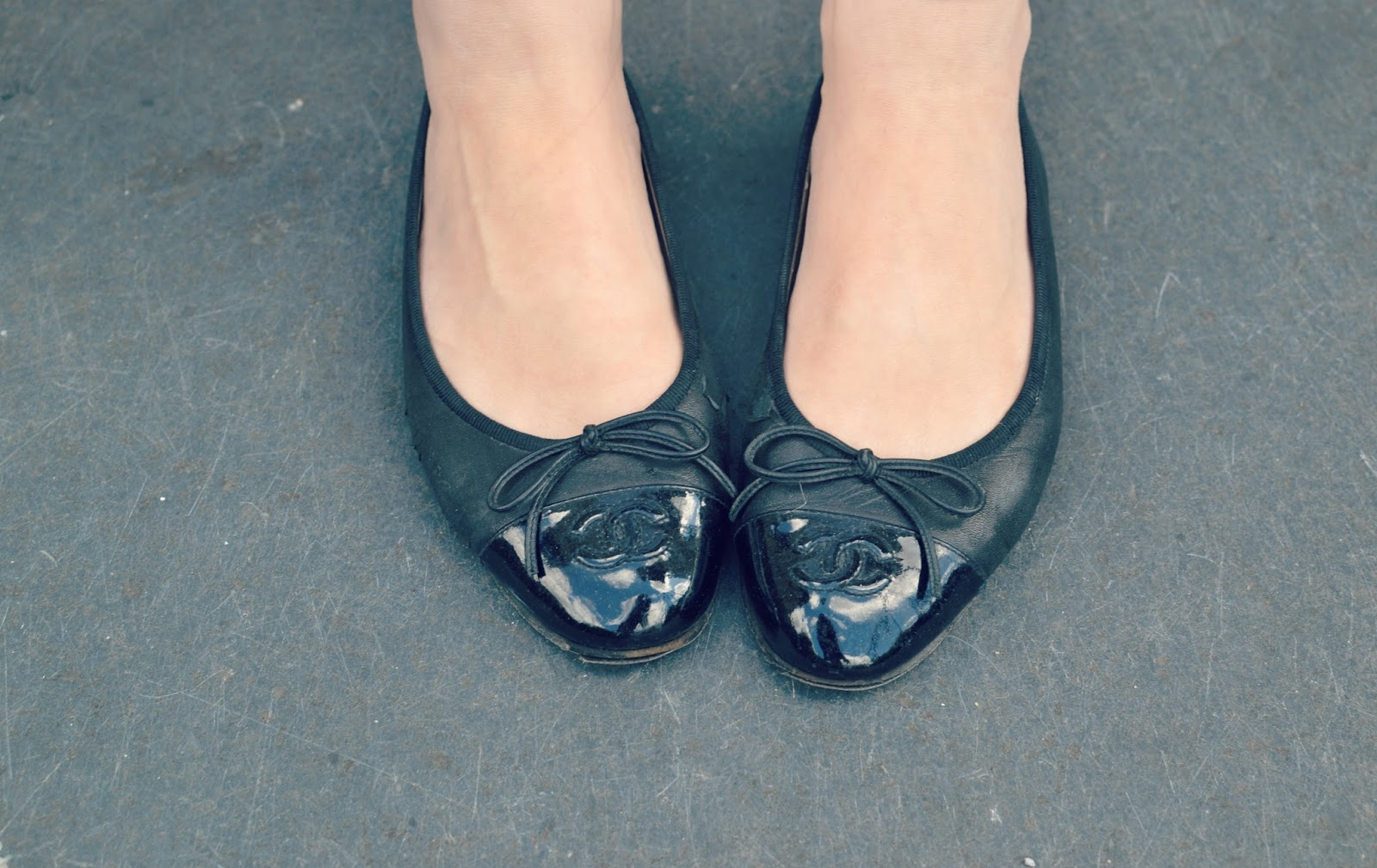 chanel shoes ballet pumps alexa chung