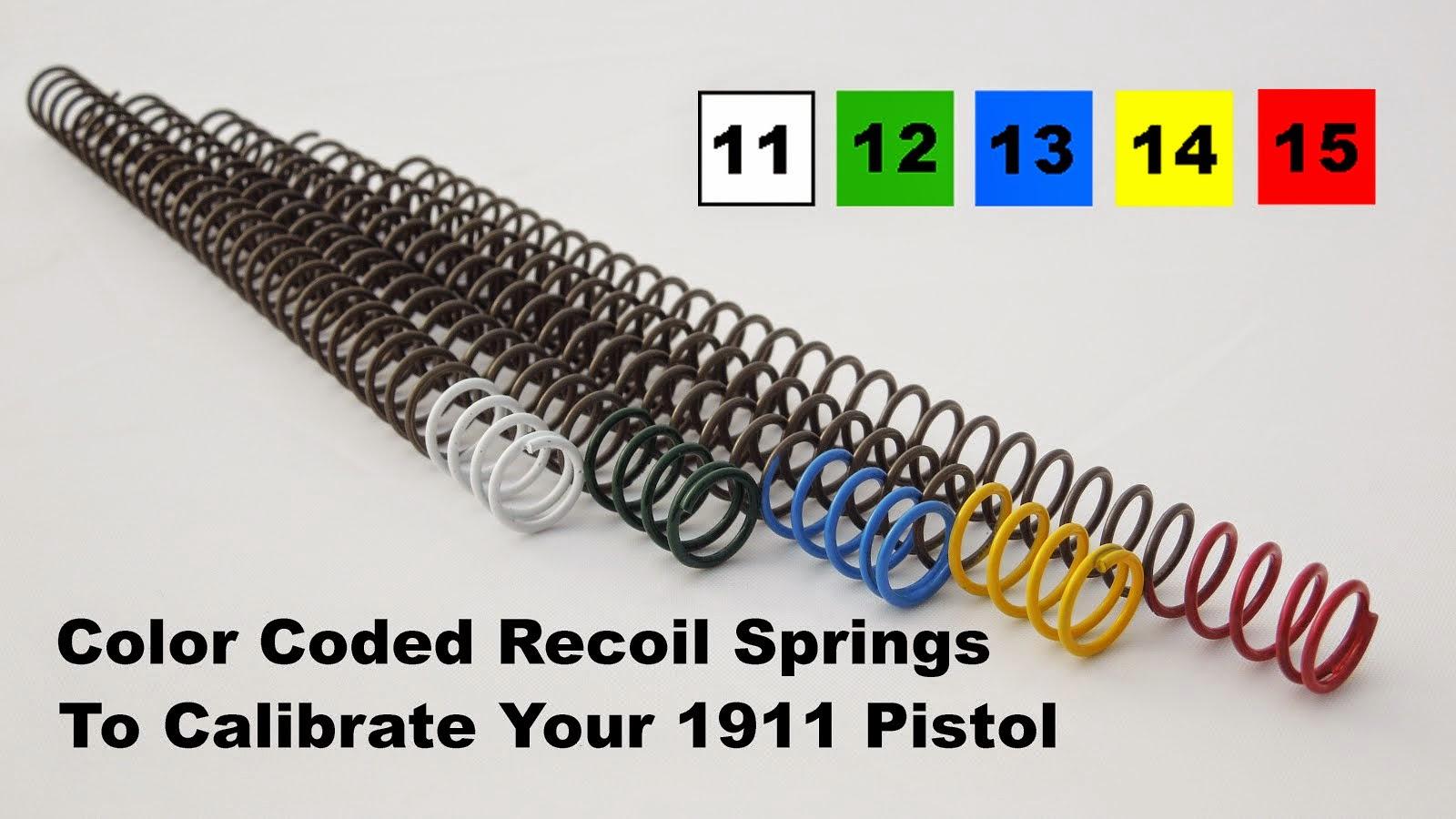 1911 Recoil Springs