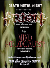 CONCIERTO PRION + MIND HOLOCAUST