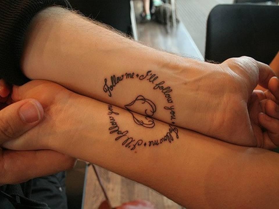 Фото тату надписи на руке для любимой