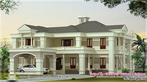 3900 sq-ft villa design