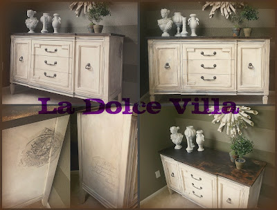 Vintage Bedroom Furniture on Vintage Thomasville Buffet  French Finish And Details  315 Sold
