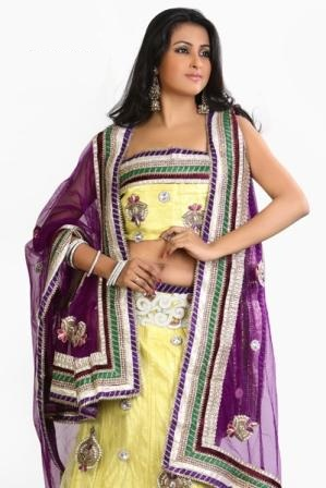 Bridal-Lehenga-Sarees-for-Wedding