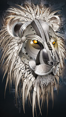 3D čelični lav download besplatne pozadine slike za mobitele