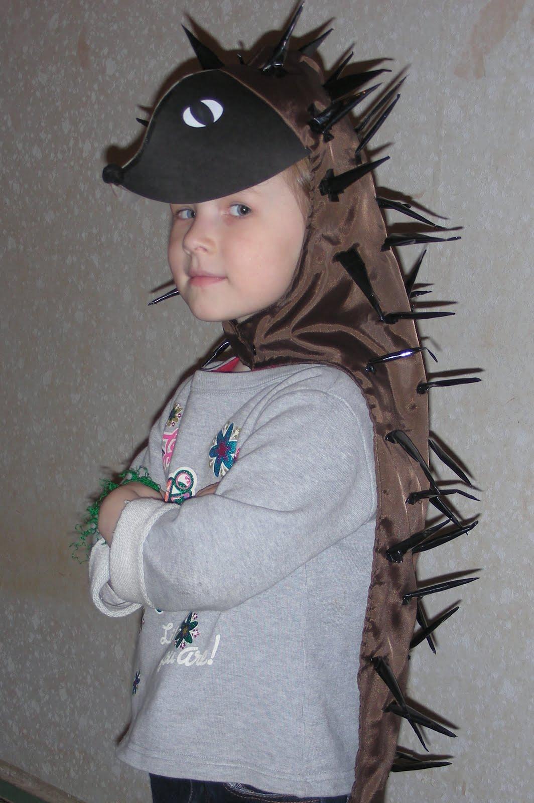 Фото костюма ежика для ребенка