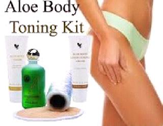 Benefits of toning with Aloe Body Toning Kit