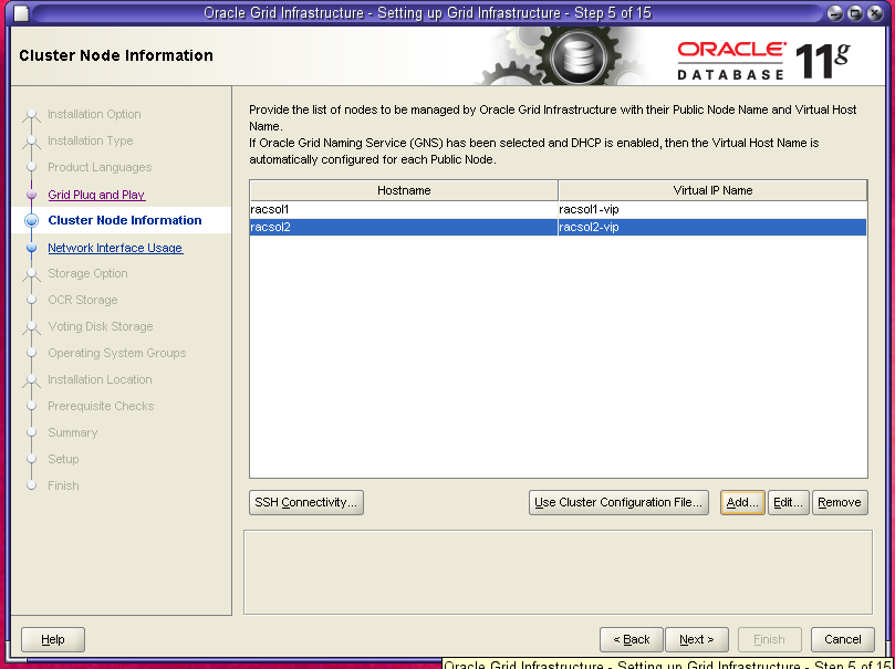 Install Oracle Grid Infrastructure 11gR2 with ASM on ...