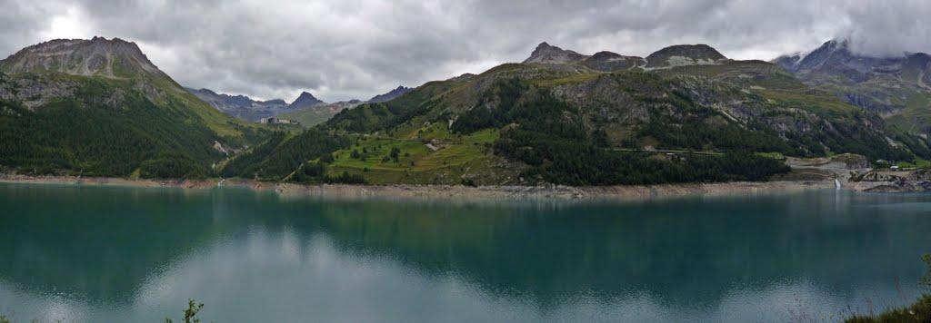 Zinaztli cicloturismo de monta a con alforjas traves a de los alpes 12 tignes le lac - Lac du chevril ...