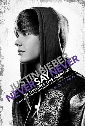 justin bieber never say never movie poster. Justin Bieber - Never Say