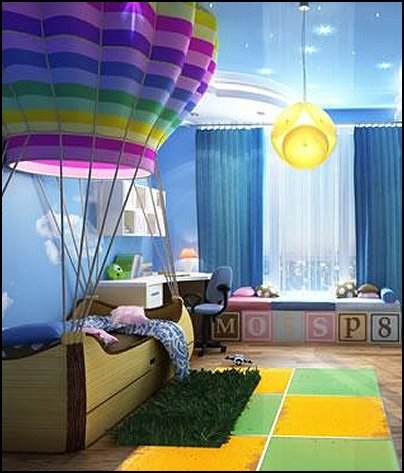 Hot Air Balloon Bedroom Ideas   Decorating With Hot Air Balloons Part 85