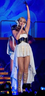 Kylie Minogue kicks off world tour in Denmark