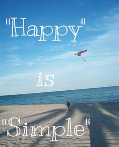 Happy is simple