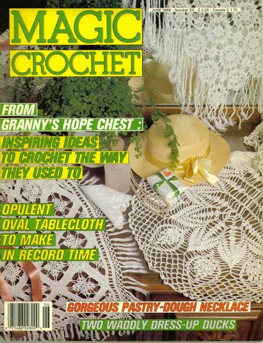 Amigurumi Magazine Subscription : Magic Crochet No. 54 ~ Free Crochet Patterns