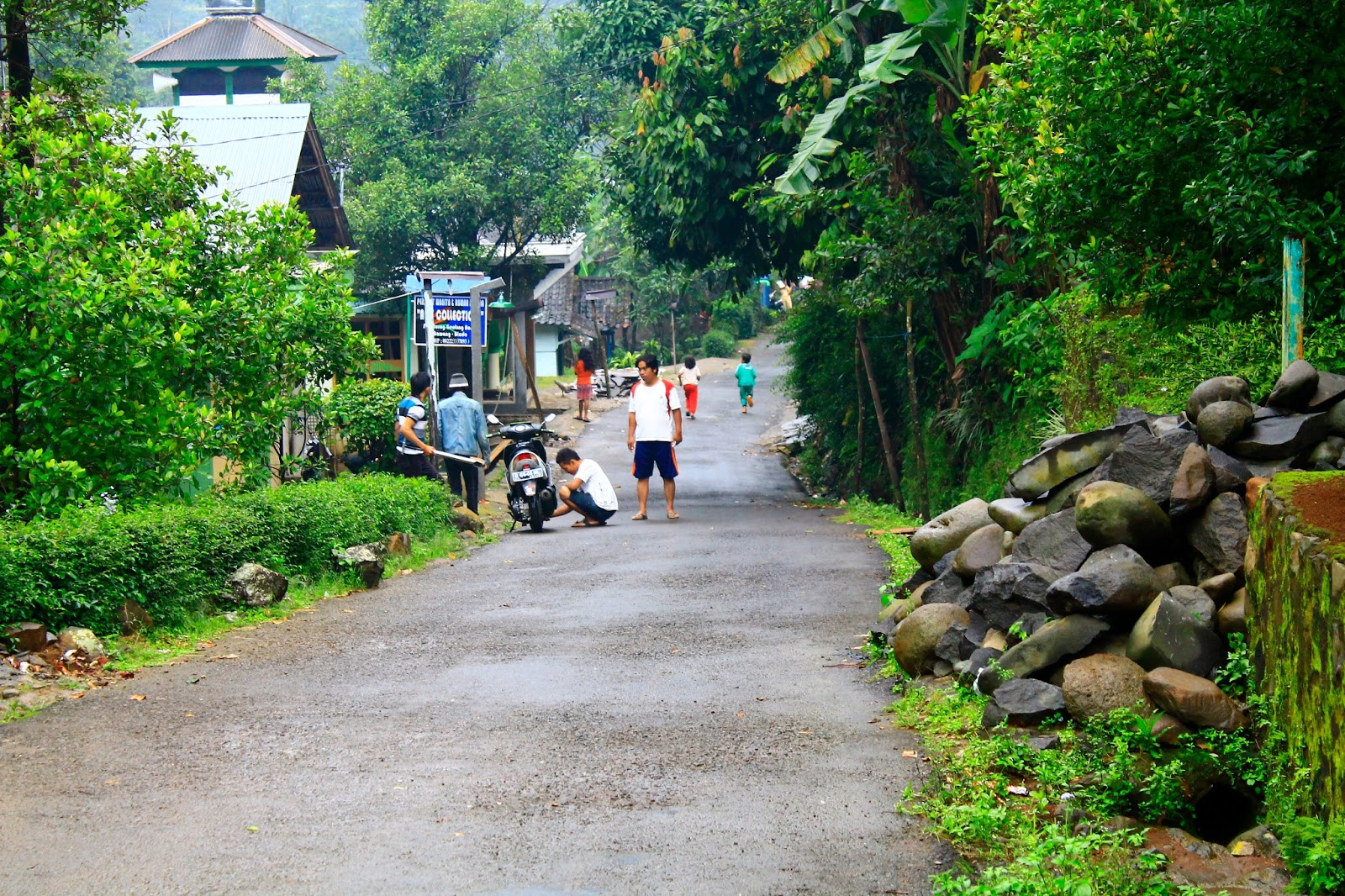 batang dan provinsi jawa tengah desa ini masukpada indonesia bagian