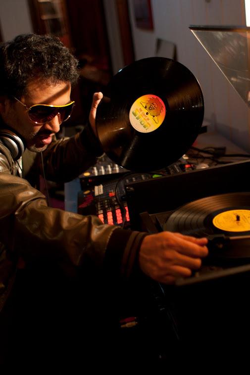 Lucas Silva - DJ CHAMPETA MAN - fundador de Palenque Records
