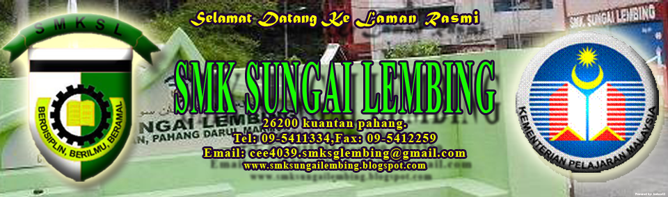 Laman Rasmi SMK Sungai Lembing