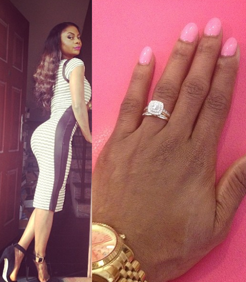 Karen Igho Officially Confirms her Engagement,Prays for Single Ladies