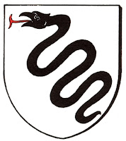 Serpent de sable  Bettlach_blason