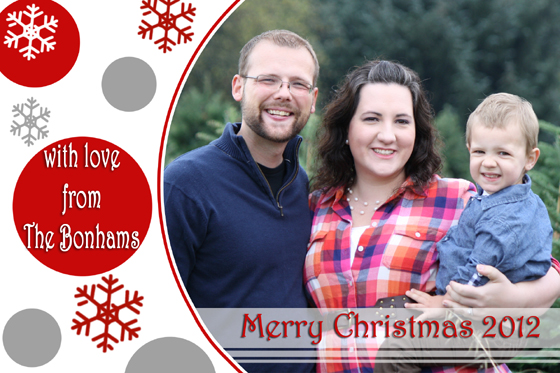 free photo christmas card templates