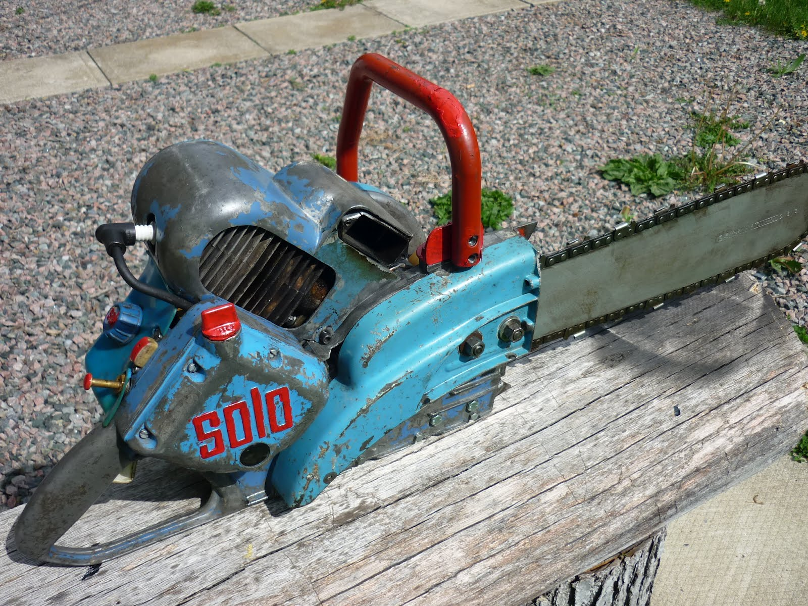 Vintage Chainsaw Collection Solo Rex Briggs And Stratton Engine Diagram Moreover 16 Hp
