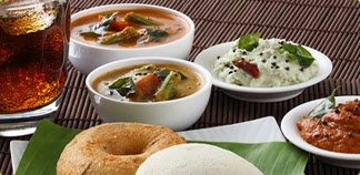 South Indian Cuisine Menu