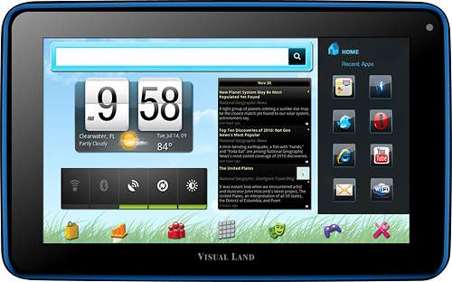 visual land prestige 7 android tablet pc the visual land prestige 7