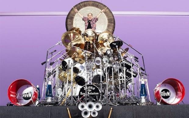 set drum terbesar