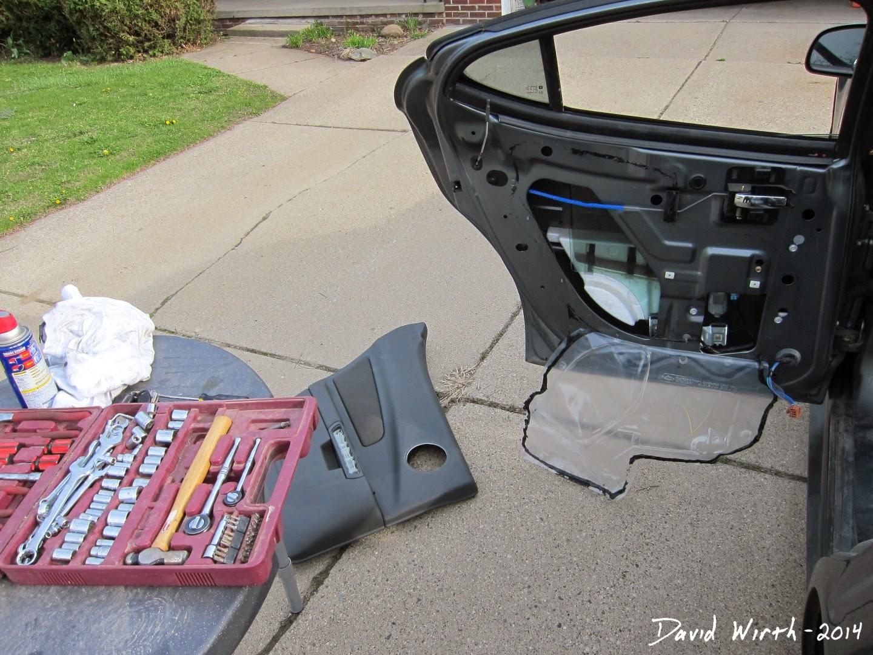how to fix a broken car window, won't work, motor, regulator