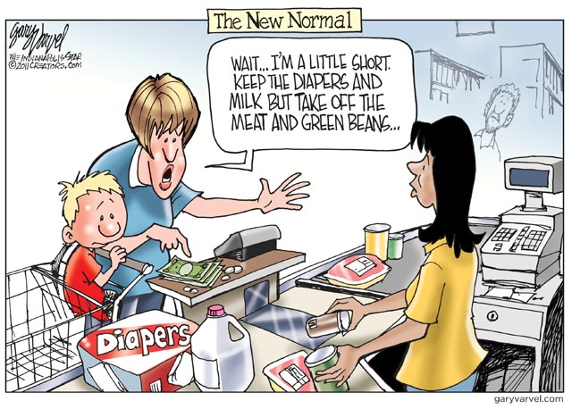 Cartoon Of The Day The New Normal Common Sense Evaluation