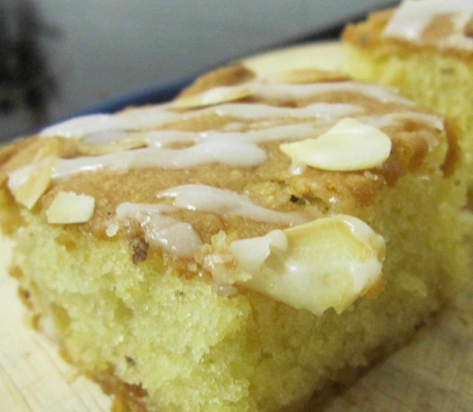 Lipstick & Marzipan: Almond & Marzipan Sponge Cake