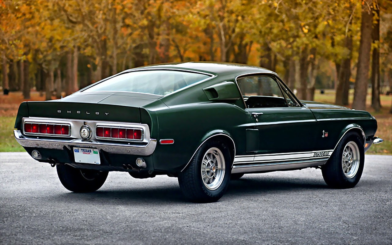 The Most Popular Ford Mustang : 1968 Ford Mustang Shelby ...