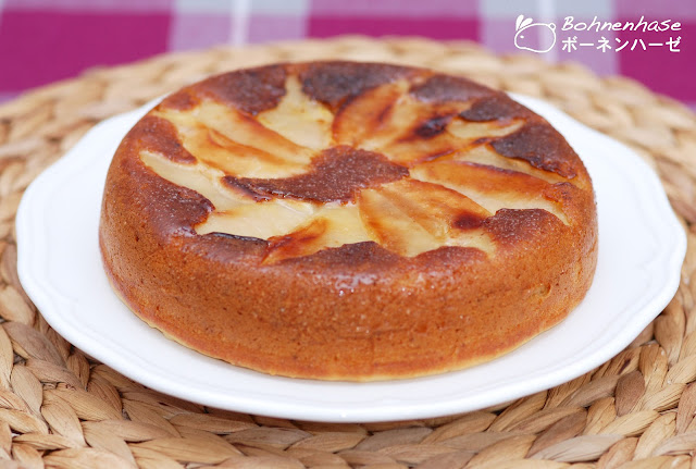 Apple Cake Mix Sour Cream Slice