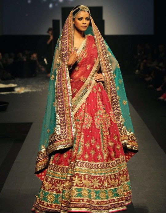 Bridal lehengas: On trend bridal styles | catwalk