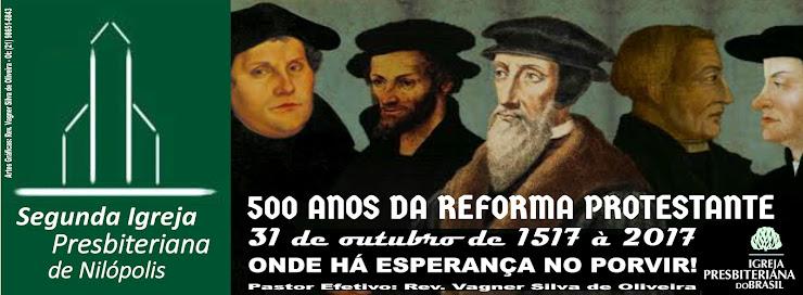 Segunda Igreja Presbiteriana de Nilópolis a 59 anos sendo uma Igreja Reformada!