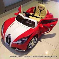 Mobil Mainan Aki Pliko PK9708N New Bugatti