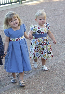 Dress made using Simplicity Sewing Pattern 2709