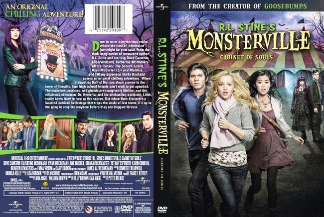 R.L. Stine s Monsterville: The Cabinet of Souls – Castellano – Inglés