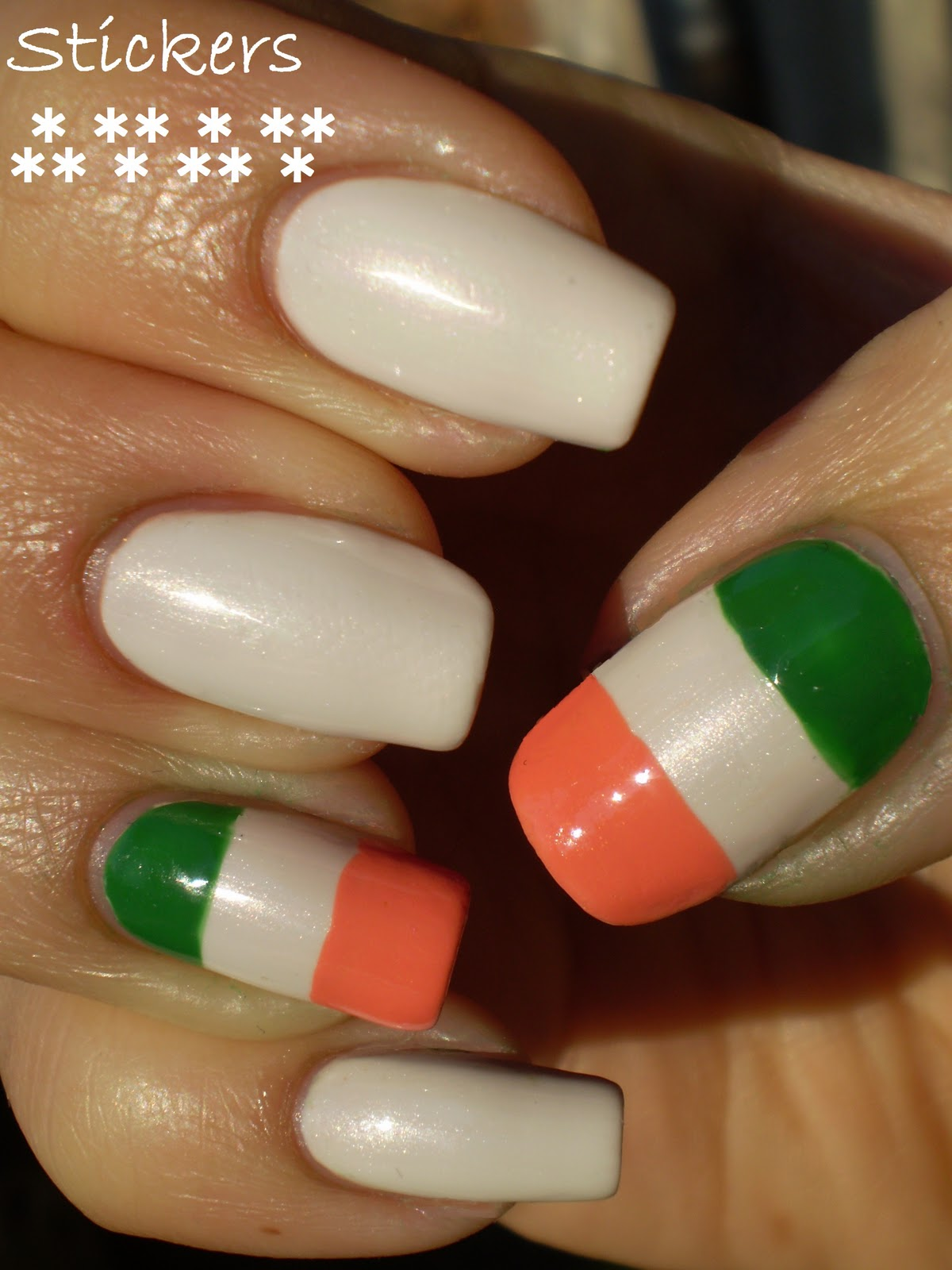 Nails, wanted!: Day 28. Inspired by a flag