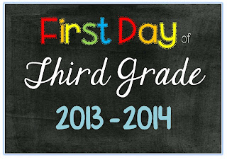 FREE PDF file First Day of School Photo
