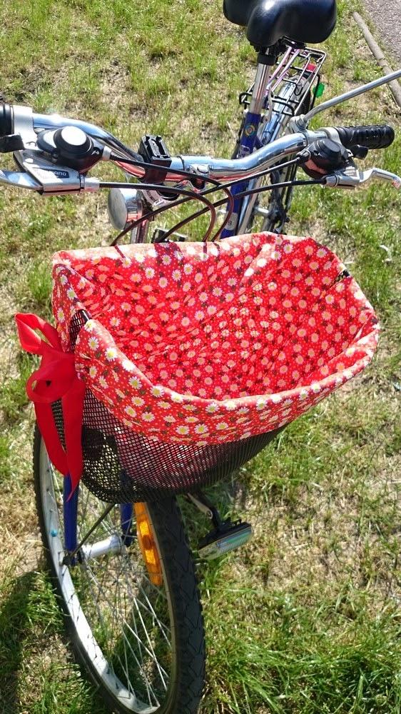Worek rowerowy do koszyka