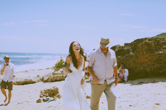 great ocean road beach wedding
