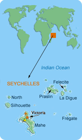 SEYCHELLES VICTORIA 42 AFRICA STATES AND CAPITALS Pinterest